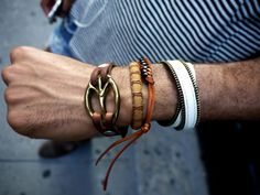 Bracelets Estilo Fashion Men Style Tips Well Dressed