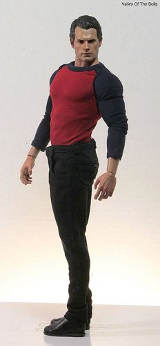 Now there's a doll I'd love to play with over and over again!!! ;) HENRY CAVILL. SUPERMAN ACTION FIGURE