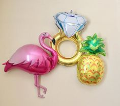 Flamingo Pineapple Bachelorette~Let's Flamingle Party~She Said Yes~Flamingo Bachelorette~Beach Bach~Final Flock~Flamingo Party Decor~Aloha - Modern Bachelorette Party Planning, Beach Bachelorette, Bachelorette Party Decorations, Flamingo Party, Flamingo Decor, Party Queen, Let's Flamingle, Pineapple, Bridal Shower