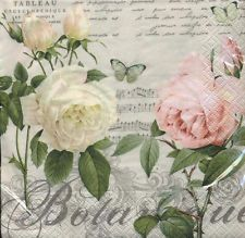 5  Servietten  napkin  serviettes Rose Jardine