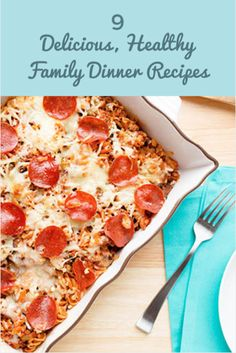 "Treat your family to a delicious, low-calorie meal without spending hours in the kitchen with these lightened-up recipes from the ""Skinny Suppers"" cookbook. Written by SkinnyMom.com creator Brooke Griffin, ""Skinny Suppers"" features 125 healthy twists on recipes across nine categories. 9 Delicious, Healthy Family Dinner Recipes http://www.activekids.com/food-and-nutrition/articles/9-delicious-healthy-family-dinner-recipes?cmp=17N-PB34-S13-T6---1112"
