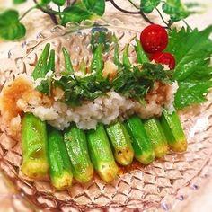 ピリ辛ペロリ♡焼きオクラのおろしそラーポン和え+by+まあやさん+|+レシピブログ+-+料理ブログのレシピ満載! +来てくださってありがとうございます!!!+旬のオクラがたっぷりあるので^+-+^またまた、ひんやりサッパリ爽やかなズボラおつまみ♡^+-+^夕食のあと一品にも♡ ◆材料(2人分) オクラ+1パッ...