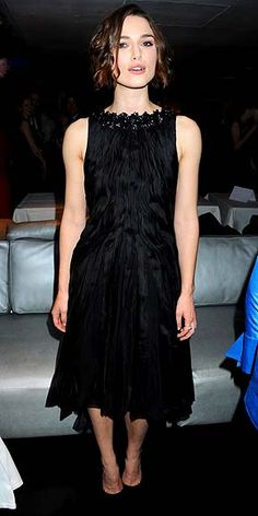 "Keira Knightley in Chanel Haute Couture (2011 London ""The Children's Hour"" opening night)"
