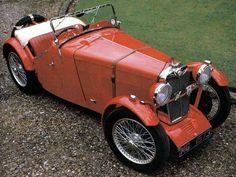 1932 MG F2 Magna New Sports Cars, British Sports Cars, Sport Cars, British Car, Austin Healey Sprite, Retro Cars, Vintage Cars, Antique Cars, Morris Minor
