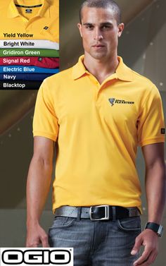 #ogio #mens #polos $30.98 Accelerate beyond the limits in this high-performance polo that pays tribute to your favorite jeans with its rounded, bartacked placket.  Features: 5-ounce; 100% poly with stay-cool wicking technology; OGIO heat transfer label for tag free comfort; rib knit collar and cuffs; OGIO jacquard neck tape; triple-needle shoulders and hem; 3-button placket with dyed-to-match OGIO buttons; OGIO badge on left sleeve; side vents.