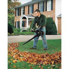 Black & Decker BV3100 12-Amp Blower/Vacuum/Mulcher Garden Equipment, Equipment For Sale, Garden Power Tools, Speed Cleaning, Leaf Blower, Outdoor Gardens, Lawn, Leaves, Patio