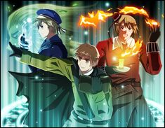 Hetalia | Magic Trio