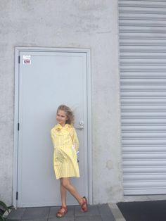 Nicol is wearing littlepushkin Lemon dress from SS17
