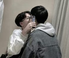 images about Asian gay couple 😆🌈 on We Heart It Cute Gay Couples, Cute Couples Goals, Couple Goals, Gay Aesthetic, Couple Aesthetic, Korean Boys Ulzzang, Ulzzang Couple, Daddy's Little Boy, Korean Couple