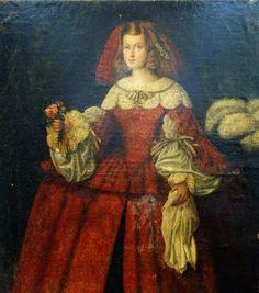 Infanta Margarita Teresa de Austria.