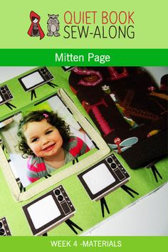 Quiet Book Sew-Along: Mitten Page – Materials List {week 4}