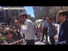 Alessandro Di Battista (M5S) BORGOMANERO siamo sempre in Piazza