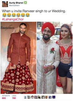 """This Baller Bride Ditched Her Lehenga For Gym Shorts And People Are Hilariously Captioning The Photo """"When you getting married at 12 but gotta hit the gym at 1."""" @buzzfeed vioa @sunjayjk"""