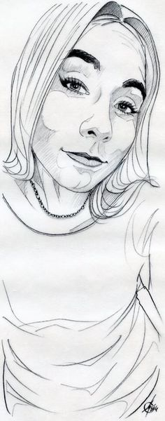 Técnica con lapicero de grafito. Trazo con 0.5 ZEBRA M-301. Detalles con 5B.