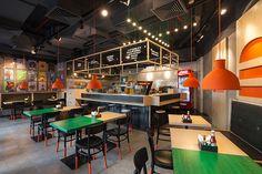 Burger House on Behance