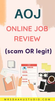 Have you tried AOJ? American online jobs (AOJ) is an online job company that offers work from home opportunities. In this article you will find more about AOJ and also whether it's a scam or legit. Stay At Home Dad, Make Money From Home, Way To Make Money, Make Money Online, Work From Home Options, Work From Home Opportunities, Work From Home Moms, Apps That Pay You, Online Jobs From Home