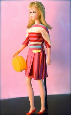 vintage Barbie - Mod Era Twist n' Turn Francie - blonde
