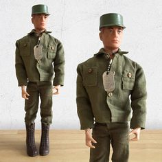GI Joe Action Figure /Talking GI Joe Army Commander by Hasbro Patent Pending Army Action Doll with Painted Rivets Gi Joe 1, Army Fatigue, Military Action Figures, Childhood Toys, Brown Boots, Vintage Toys, Military Jacket, Patent Pending, 1970s Toys