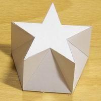 pentagonal-pentagrammic shape