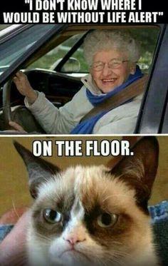Nursing humor life alert