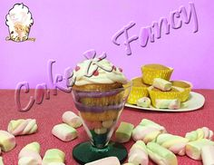 cupcake in bicchiere