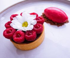 963 mentions J'aime, 31 commentaires – Daniel windelhed (@pastrybydaniel) sur Instagram : « Again! Raspberry and chocolate always a good combination. Chocolate tart with raspberry sorbet… »