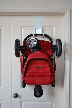 #armadilloflip Over the Door Stroller Storage Hanger Strollaway