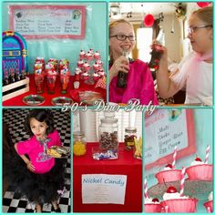 50's Diner - Sock Hop Birthday Party Ideas | Photo 1 of 17 | Catch My Party