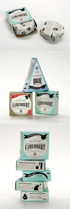 Fairview Cheese Packaging