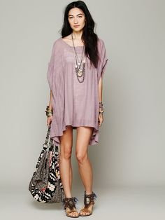 Free People Breezy Tunic at Free People Clothing Boutique
