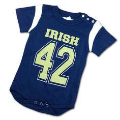 41c840511b3 Fighting Irish Baby Team Bodysuit  NotreDame  FightingIrish  Baby  Infant   Toddler