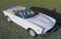 1981 Fiat 2000 Spider -- this is exactly what my Gramps had Fiat 124 Spider, Cars And Motorcycles, Cool Cars, Spiders, Cool Stuff, Bella, Beautiful, Products, Spider