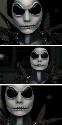 Beautiful!!!! I wish I could pull this awsome Halloween makeup off!