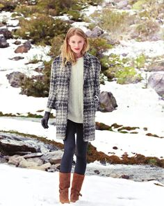 perfect wintertime look
