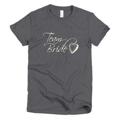 Team Bride w/ Heart - Bridal Party - Women's t-shirt