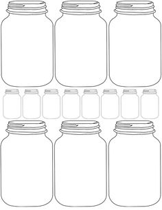 DIY Printable Mason Jar Printables…