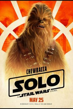Chewbacca will be one of your favorite characters in SOLO: A Star Wars Story. He's probably already your favorite character in the Star Wars Universe, but Joonas Suotamo will solidify that for you in this film. Who is Joonas Suotamo? Well, he's Chewbacca! Han Solo And Chewbacca, Star Wars Han Solo, Star Wars Day, Star Trek, Donald Glover, Starwars, Kino Film, Story Characters, Star Wars Poster