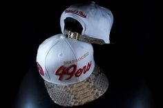 low priced 90574 57eb9 Mitchell and Ness BCS NL23z San Francisco 49ers Python Strapback Hat  Strapback Hats, Dad Caps