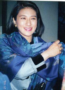 雅子さま 1994年12月、東京都内、岡野栄子さん撮影