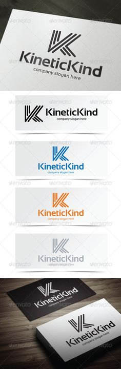 Kinetic Kind - Logo Design Template Vector #logotype Download it here: http://graphicriver.net/item/kinetic-kind/5142274?s_rank=151?ref=nexion