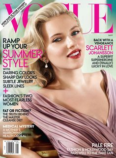 Scarlett Johansson Covers Vogue US May 2012 | Fashion Gone Rogue: The Latest in Editorials and Campaigns