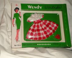 1960's Elite Creations Mint NRFB Barbie Clone Wendy Outfit   sold for $95 on eBay