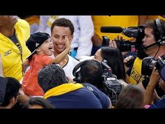 Golden State Warriors Stephen Curry Daughter Riley Curry New Press Confe...