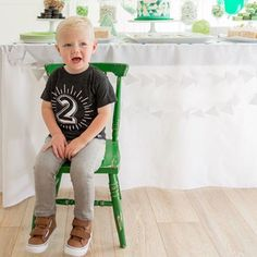 Happy 2nd Birthday Kenton. Thanks for celebrating in our number T! Warning: these are almost sold out of a few numbers and will be at least a month until we re-stock. Thanks for the pic @arrowandlacedesigns
