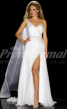 white long prom dresses