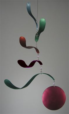 Hanging Mobile Gallery specializes in decorative hanging art including kinetic mobiles by top mobile designers for home and nursery decor. Mobile Art, Hanging Mobile, Hanging Art, Sculpture Lessons, Sculpture Projects, Mobiles, Mobile Sculpture, Kinetic Art, Contemporary Sculpture