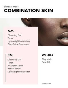 This simple guide will help you find the perfect daily skincare routine based on your skin type.