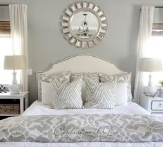 Classic Chic Home: Bedrooms Designed with Serenity in Mind. Omg I want this soooo bad!!!