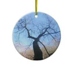 Spooky Tree Ornament!  #ornament #decoration #zazzle #store #gift #home http://www.zazzle.com/dww25921*