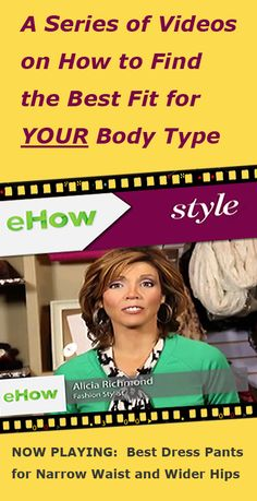 First of 11 videos addressing fit issues women face: How to find the best dress pants for a narrow waist and wider hips. Get them all at: chiconashoestring.com #chiconashoestring #fitandflatterdressingguide